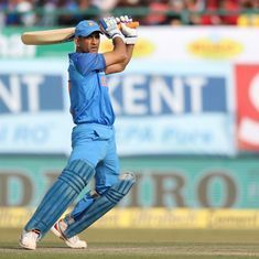 Dhoni's match intelligence is exactly what the rest of the Indian team is severely lacking