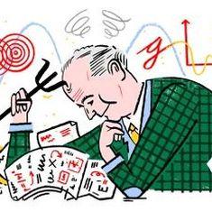 गूगल ने आज अपने डूडल में जिन मैक्स बोर्न को याद किया है उन्होंने कुछ वक्त भारत में भी बिताया था