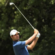 In-form Shubhankar Sharma sets Indian Open course record with 8-under 64