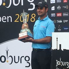 Golf: 21-year-old Shubhankar Sharma wins first European Tour title at Joburg Open