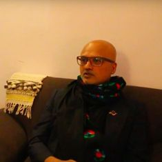 'Poetry should be listed under fiction': Watch Jeet Thayil on 'The Book of Chocolate Saints'