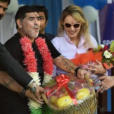 'I am not god of football': Maradona after unveiling statue in Kolkata