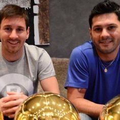 Lionel Messi's brother out of house arrest on €100,000 bail