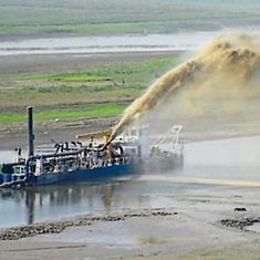 Ganga river abandons original course in Bhagalpur, sand bars hinders vessel movement, says report