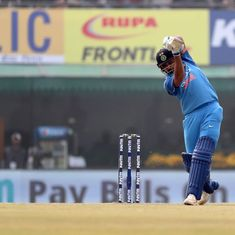Mohali ODI as it happened: Century for Mathews but India drub Sri Lanka by 141 runs