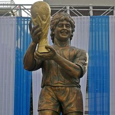 What does the Maradona statue in Kolkata look like? Twitter has many funny suggestions