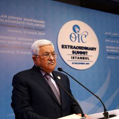 Palestine will no longer accept the US as a mediator in the peace process, says Mahmoud Abbas