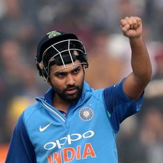 The temptation to make Rohit Sharma a Test regular has never been greater