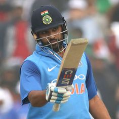 'I don't have power like ABD, Gayle, Dhoni, but I use my brain': Rohit Sharma after third double ton