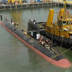 Government looks for companies to build six Navy submarines in Rs 45,000-crore project