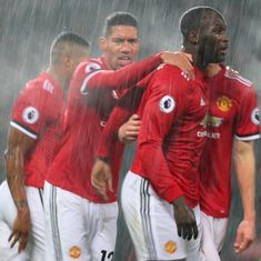 Romelu Lukaku ends scoring drought to help Manchester United bounce back from derby loss