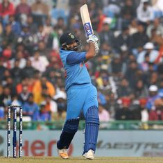 'Won't be surprised if he scores a triple': Cricketers hail Rohit Sharma's power, consistency