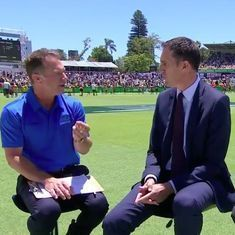 Ashes commentators discussed spot-fixing allegation on air. In India, that just felt strange