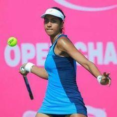 Karman Kaur Thandi beats Ankita Raina in singles semis before both lift doubles title in Pune