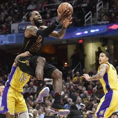 NBA: LeBron registers record triple-double as Cavaliers beat LA Lakers, Knicks down Nets