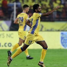 ISL: CK Vineeth's stoppage time goal clinches a point for Kerala Blasters in Chennai
