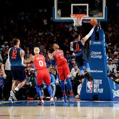 NBA Roundup: Westbrook powers Thunder's dramatic overtime win, Jazz snap losing streak
