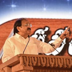 English is an illness left behind by the British, says Vice President Venkaiah Naidu