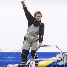 Around the world in 42 days: Frenchman Francois Gabart smashes solo sailing record