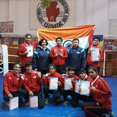 India's junior female boxers bag eight medals in Ukraine tournament