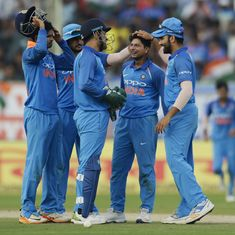 Spinners, Dhawan lead India to series-clinching win over Sri Lanka in Vizag