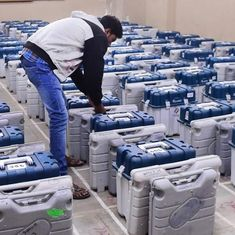 Voting temporarily suspended at 35 booths in Maharashtra's Bhandara-Gondiya due to faulty EVMs
