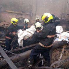 मुंबई : दुकान में आग लगने से 12 मजदूरों की मौत