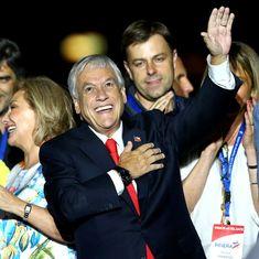 Conservative billionaire Sebastian Piñera wins Chilean presidential election