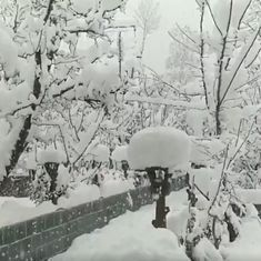 These videos show what you are missing if you cannot make it to Kashmir when it is snowing