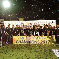 Sponsored dot balls, talks of Olympics: 10 weird things we saw during T10 league