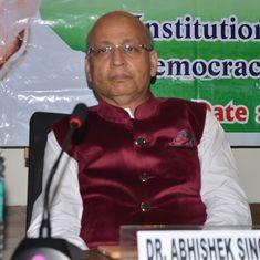 Gujarat HC issues notice to Congress leader Abhishek Manu Singhvi in Reliance defamation case