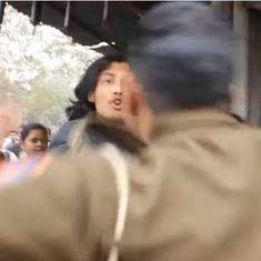 'महिला टीचर को बाल पकड़कर पीटती यूपी पुलिस' के इस वीडियो का सच क्या है
