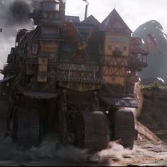 Watch: London devours smaller cities in Peter Jackson's 'Mortal Engines' teaser