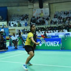 Self-trained junior national champ Aakarshi Kashyap is now eyeing the big league