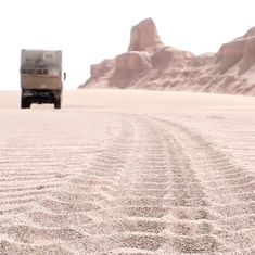 Watch: This adventurous couple drove across 16 countries to travel from Germany to India