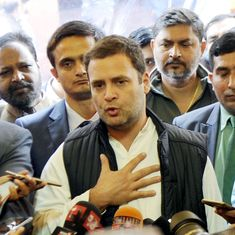 Rahul Gandhi accuses Centre of making up data theft story to divert attention from Iraq deaths