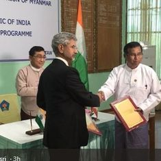 India, Myanmar sign agreement for development of violence-hit Rakhine state