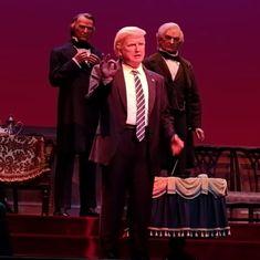 Watch: Guess whom Disney's animatronic Donald Trump robot resembles
