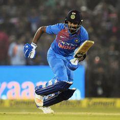 Vijay Hazare Trophy wrap: KL Rahul, Vijay Shankar impress with big runs; Chhattisgarh stun Mumbai