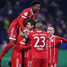 Boateng, Thomas Mueller score as Bayern Munich battle past Dortmund in German Cup quarters