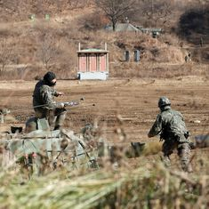 South Korean military fires warning shots after North Korean soldier allegedly crosses border