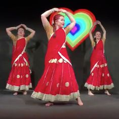 Spot the difference: This is how a Bollywood dance is performed in Finland