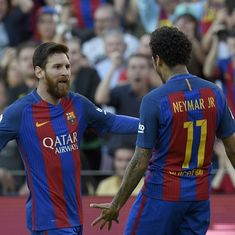 Not sure if Barcelona wanted it, but Neymar was very keen on returning to Camp Nou: Lionel Messi