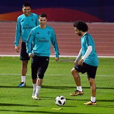 Ronaldo quashes fitness fears, returns to Real Madrid training ahead of El Clasico