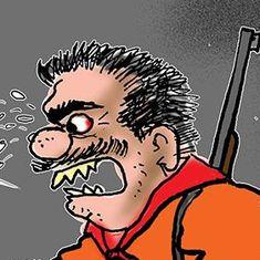 कार्टून : जिन्हें सैंटा से डर लगता है