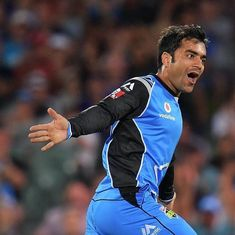 Rashid Khan caps BBL debut with a man-of-the-match performance