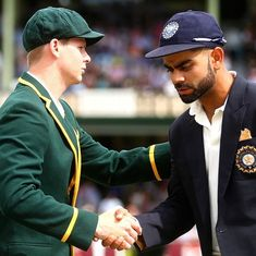 I admire Virat Kohli a lot, his record is simply incredible: Steve Smith