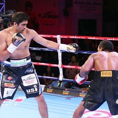 10 wins on the trot: Vijender Singh retains twin titles, remains unbeaten in pro boxing
