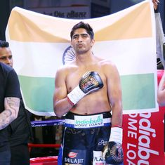 Vijender Singh sets his sights on Commonwealth, World title after 10th straight win