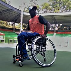 He lost his leg, but not his will: Meet Shekar Veeraswamy, India's top wheelchair tennis player